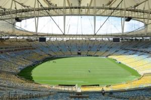 El estadio de Maracana, renovado para el Mundial de Fútbol. Crédito: Érica Ramalho/Governo do Rio de Janeiro - CC BY 3.0 BR